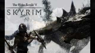 The Elder Scrolls V: Skyrim - Dragonborn Main Theme (HD)