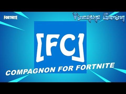 FORTNITE PRESENTATION APPLICATION COMPANION FOR FORTNITE