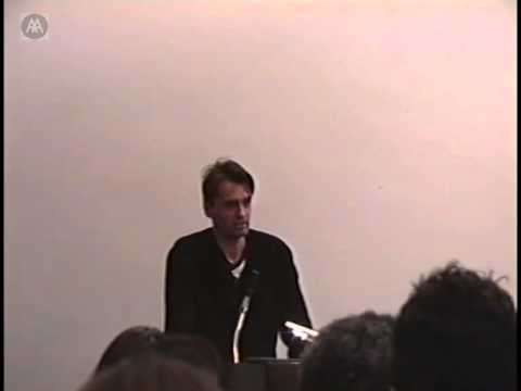 Ethics and the Questions of Space, the Environment and Architecture - Patrik Schumacher
