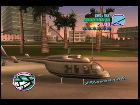 GTA Vice City Hunter Helicopter (Without Any Cheats)