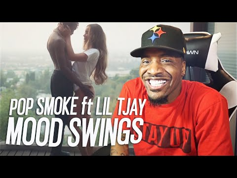 POP SMOKE – MOOD SWINGS ft. Lil Tjay (REACTION!!!)