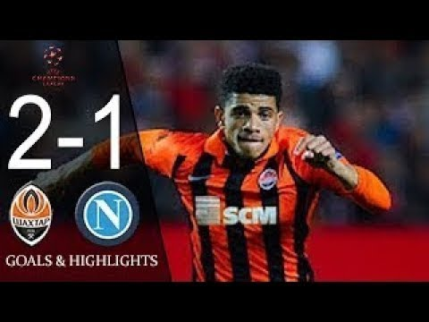 Shakhtar vs Napoli 2-1 - All Goals & Highlights - Champions League 13/09/2017 HD