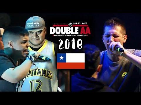 RIMAS QUE PARARON LA DOUBLE AA !! Internacional CHILE 2018 ¡Mejores Rimas!
