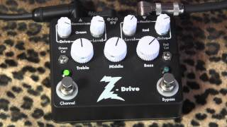 Dr Z Z-Drive demo with Fender Pro Junior Amp & Telecaster