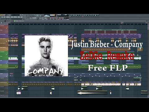 Justin Bieber - Company (FL Studio Remake) [Free FLP + Acapella]