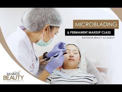 Microblading and Permanent Makeup Class | Bangkok Beauty Academy