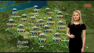 Prognoza pogody 27.12.2019
