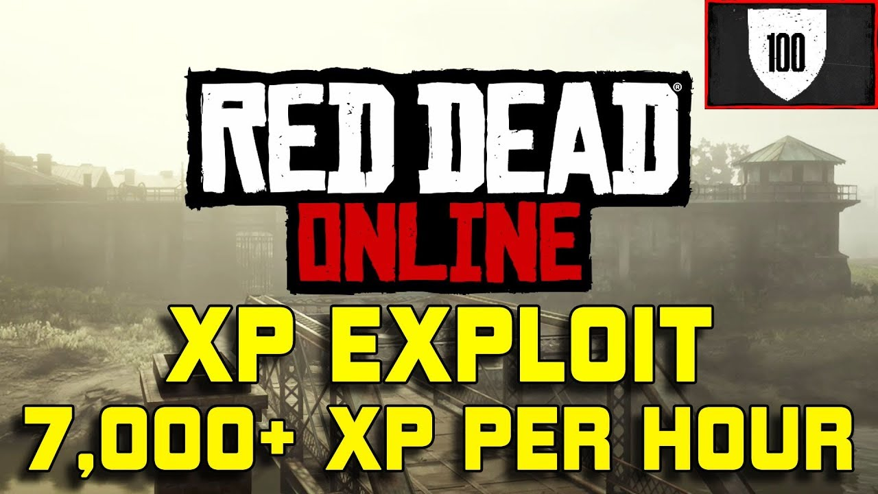 Red Dead Redemption 2 Online Fastest XP Exploit Glitch