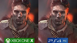 Battlefield 5 Ps4 Pro Vs Xbox One X Graphics Comparison, Frostbite Engine Analyzed!