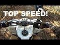 Suzuki LTZ400 Off-Road Top Speed!
