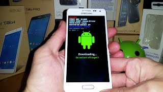Démarrage en Recovery & Download Mode (Démo) Samsung Galaxy