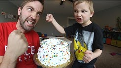 FATHER SON CAKE DUEL