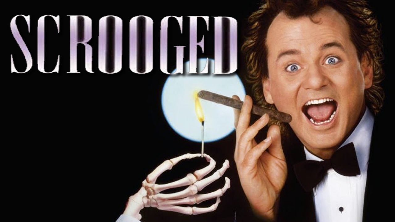 Sarcastic Quotes Wallpaper Scrooged Movie Review Jpmn Youtube