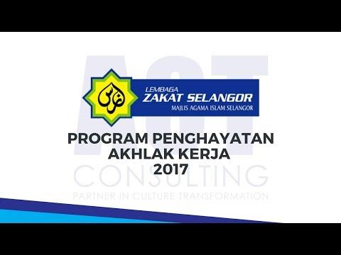 ACT Consulting - Program Penghayatan Akhlak Kerja (Lembaga Zakat Selangor)