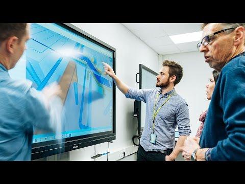 Skanska bygger Norge med interaktive skjermer fra Prowise