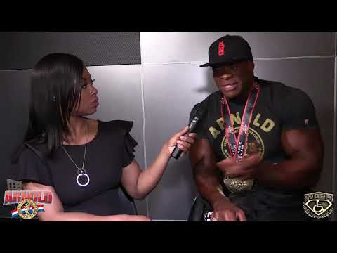 Harold Kelley - 2018 Arnold Classic Interview