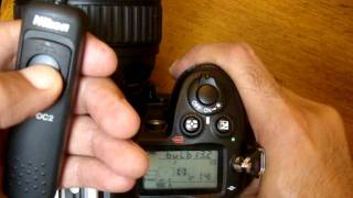 How to use BULB mode with cable shutter release for long exposure night photography