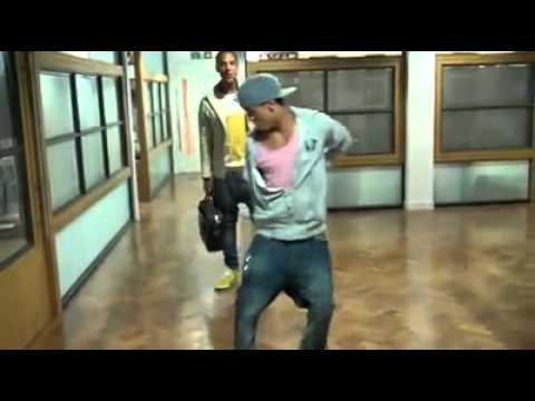 JLS Aston Merrygold doing the Dougie dance!