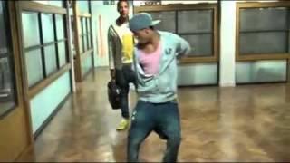 JLS Aston Merrygold doing the Dougie dance!