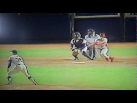 New York Mets Gary Rajsich Great Catch Shea Stadium