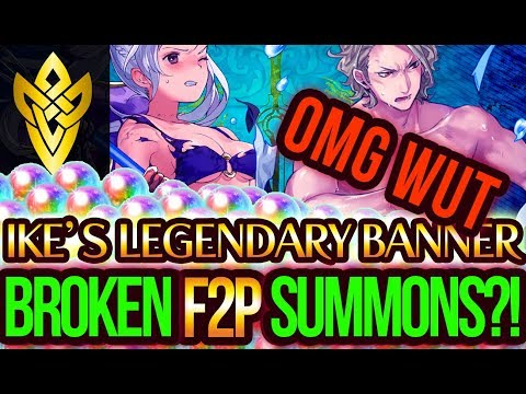 Ikes Legendary Hero Banner  BROKEN F2P Summoning?! ITS A SIGN  + Unit Analysis