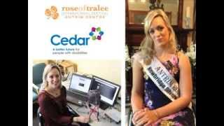 Jean Daly the 2013 Antrim Rose of Tralee introduces the Breakdown B...