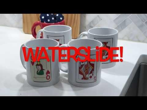How to Make Waterslide Decal Mugs
