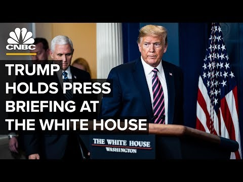 President Trump holds news conference at the White House - 5/22/2020