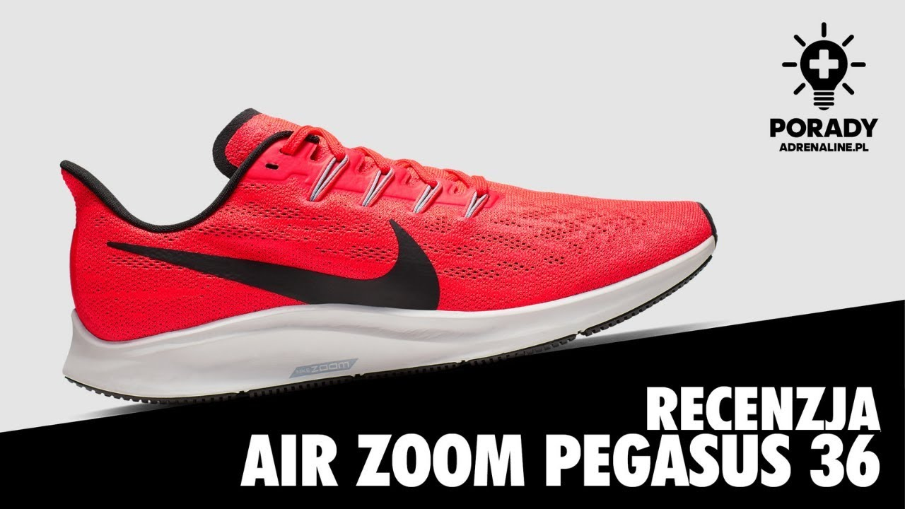 NAJLEPSZE BUTY DO BIEGANIA #2 Nike Air Zoom Pegasus 36   adrenaline.pl