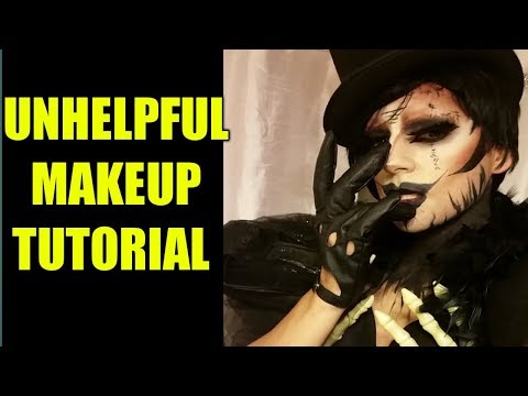 Evil Voodoo Queen Makeup Transformation