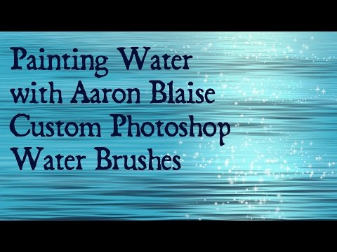 How to Paint Water in Photoshop with Custom Water Brushes