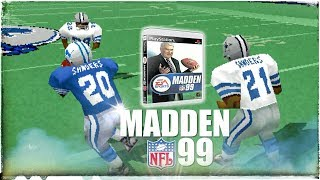 Madden NFL 99 in 2018 4K Gameplay: America