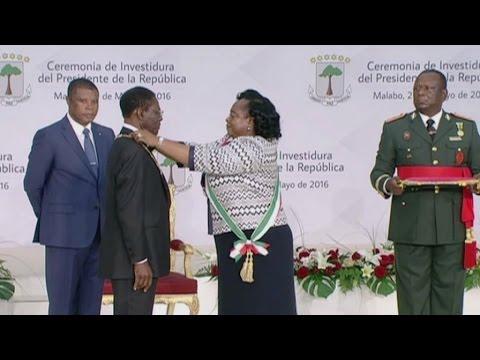 Guinée equatoriale, Investiture du Président T. Obiang Nguema Mbasogo