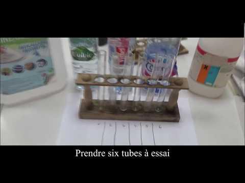 Manipulation n°2 : Pouvoir moussant du savon