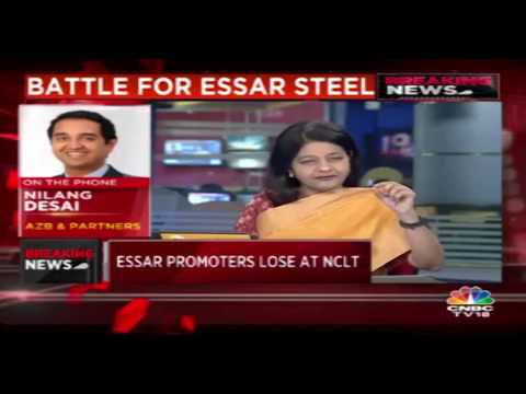 NCLT Rejects Essar Steel Promoters' Plea To Repay Debt