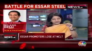 NCLT Rejects Essar Steel Promoters' Plea To Repay Debt