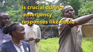 Ebola response - Social anthropologist Julienne Anoko works with affected communities