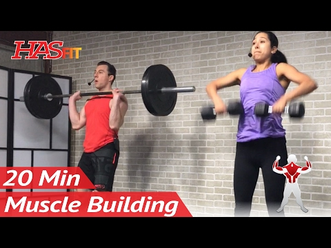 20 Minute Bodybuilding Back Workout to Build Muscle at Home Muscle Building Back Exercises Routine