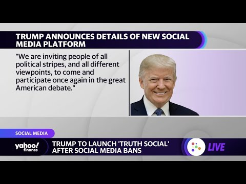 Download What to expect from Trump's new social media platform 'Truth'