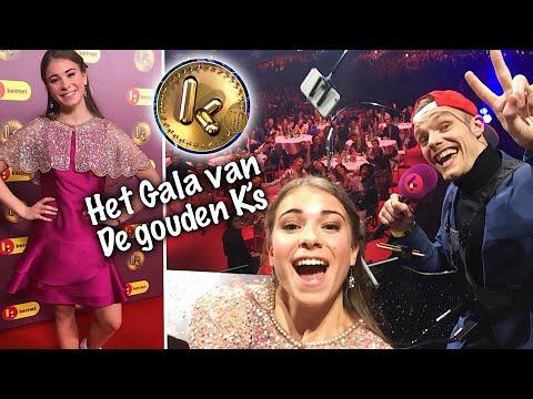 HET GALA VAN DE GOUDEN K'S !!😍🌟- STIEN EDLUND #VLOG