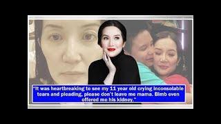Kris Aquino reveals she was diagnosed with chronic spontaneous urticaria