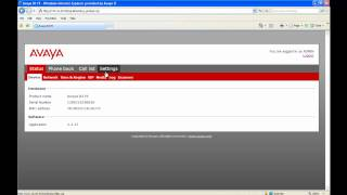 How To Configure An Avaya B179 Conference Phone To Register To SIP Enablement Services