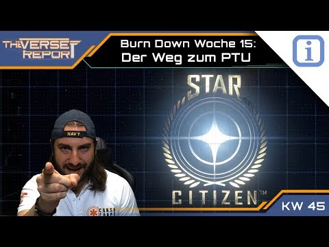 Star Citizen Burn Down: Der Weg zum PTU der Alpha 3.0 | SCB Verse Report [Deutsch/German]
