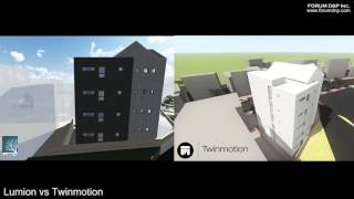 Lumion VS Twinmotion by forumdnp news