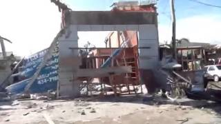 Destruction caused by Typhoon Yolanda in Bogo City (Part 5)
