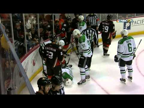Gotta See It: Despres crushes Roussel into boards