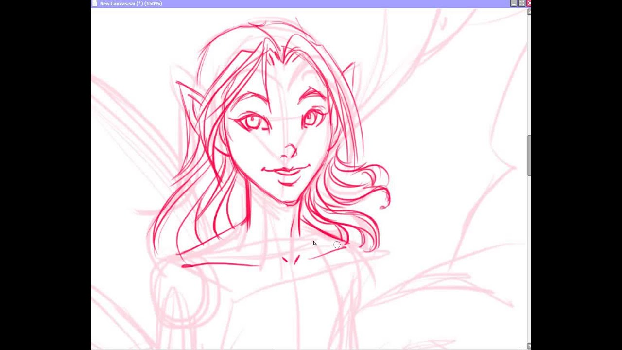 How To Draw A Fairy w/ Free Line Art For You To Color ...