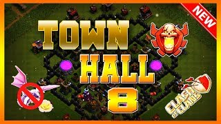 Save Your Loot Town Hall 8 (TH8) Farming Base   Clash Of Clans 2019