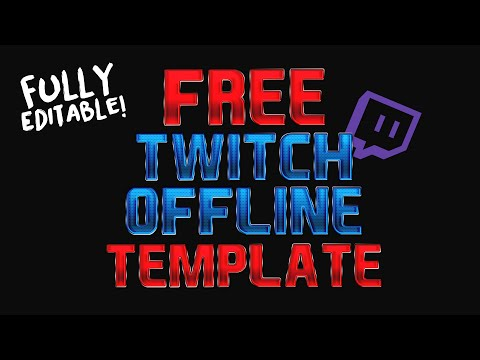 full download free twitch offline image template afk brb template psd free gfx. Black Bedroom Furniture Sets. Home Design Ideas