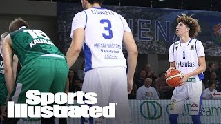 Does Ball Brothers' Lithuanian Debut Make LaVar A Business Genius? | SI NOW | Sports Illustrated